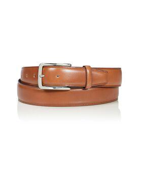 """Cintura in pelle con contrasto della bordatura 42"""" Belts"""