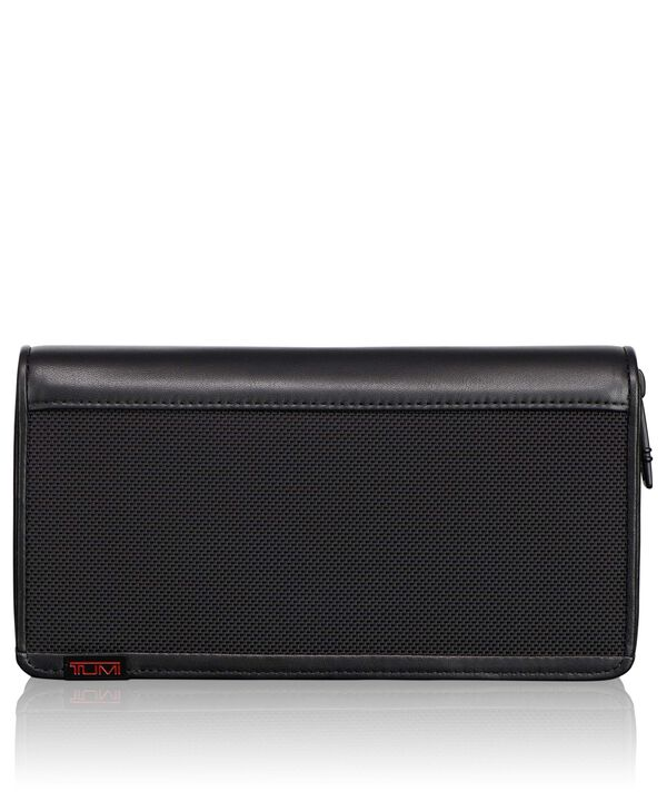 Alpha TUMI ID Lock™ Zip-Around Travel Wallet