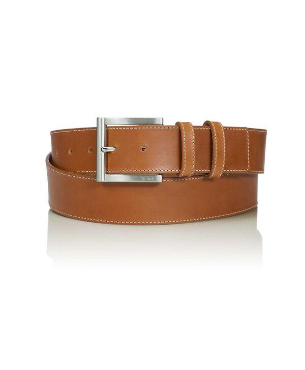 """Belts Cintura in pelle con doppio passante 42"""""""