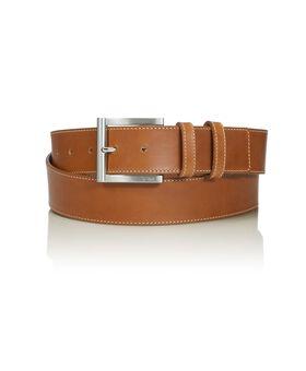 """Cintura in pelle con doppio passante 42"""" Belts"""