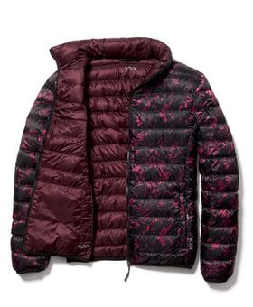 Clairmont Reversible Packable Puffer Jacket L Outerwear Womens