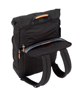 London Roll Top Backpack Alpha Bravo