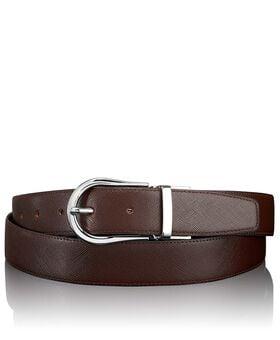 """Cintura reversibile Saffiano con ferro di cavallo 44"""" Belts"""