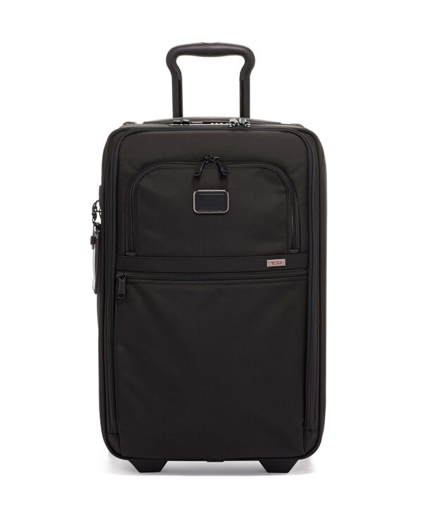 Alpha 3 International Expandable 2 Wheeled Carry-On