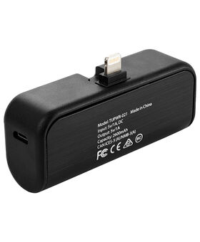 Caricabatterie portatile 2600 mAh con connettore Lightning girevole Electronics