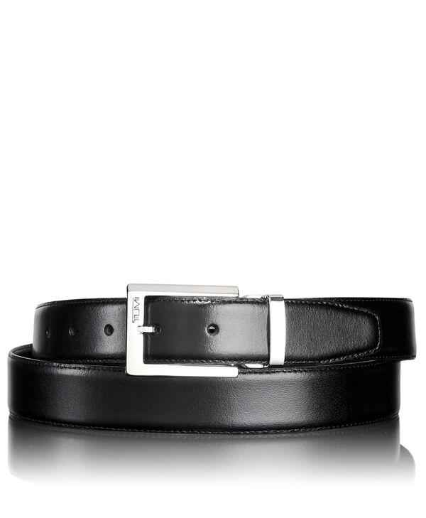 "Belts Cintura reversibile con fibbia lucida 44"""